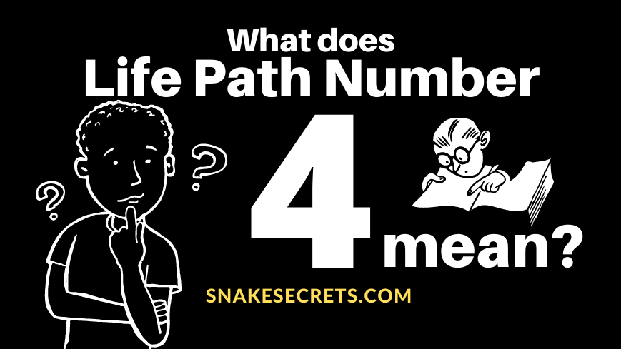 Life Path Number 4 Meaning